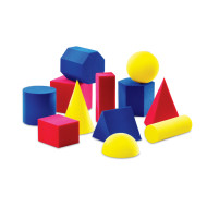 Hands-On Soft® Geometric Solids (set of 12)