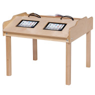 Double Wide Tablet Reading Table