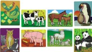 Melissa & Doug® Baby Animal Puzzles  (set of 8)