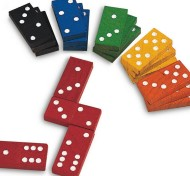 Color Dominoes  (set of 168)