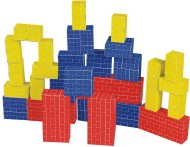Melissa & Doug® Basic Cardboard Blocks  (set of 40)