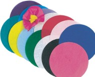"Tissue Paper Circles Pack, 4"" (pack of 480)"