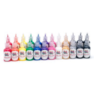Color Splash!® Dimensional Fabric Paint, 1 oz. Assorted  (pack of 24)
