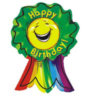 Happy Birthday Badge  (pack of 36)