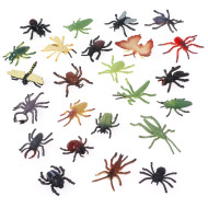 Assorted Plastic Insects (pack of 72)