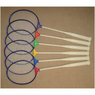 Pick-A-Paddle® Badminton Racquet Set (set of 6)