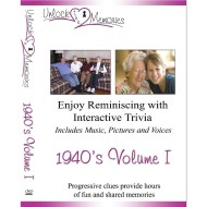 Unlock the Memories DVD, 1940s Volume 1