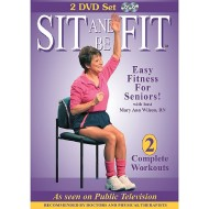 Sit and Be Fit 2-DVD Set