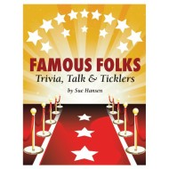 Famous Folks Trivia Book