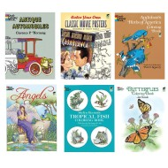 Coloring Book Set (set of 6)
