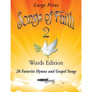 Songs of Faith Vol. 2 Words Book