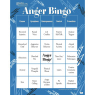 Adult Bingo Game Anger Management