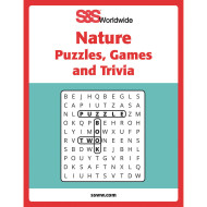Nature Puzzles, Games and Trivia Book
