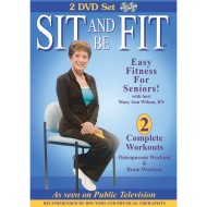 Sit and Be Fit Osteo and Brain 2-DVD Set