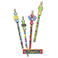 Pencils with Fidget Toppers (pack of 36)