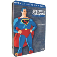 200 Family Cartoons DVD Collection Vol. 1