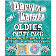 Party Tyme CD+G Oldies Party Pack (pack of 4)