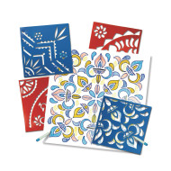 Rangoli Mega Stencils (pack of 4)