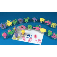 Foam Squishers Foam Stamps  (set of 20)