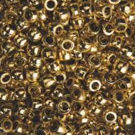 Metallic Finish Pony Beads (bag of 900)