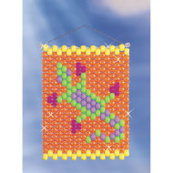 Beaded Banner Weaving Kit, Gecko
