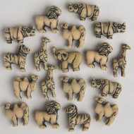 Jungle Animal Bead Assortment