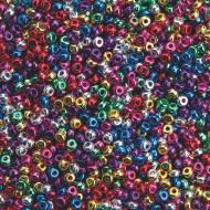 Metallic Mini Pony Beads 1/2lb. Bag
