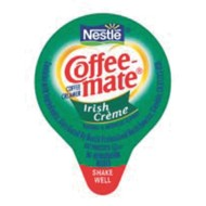 Coffee Mate Non-Dairy Creamer, Irish Cream (pack of 180)