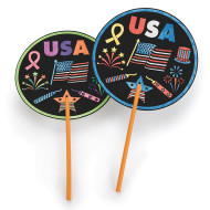 USA Fans Craft Kit (makes 48)