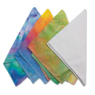 White Bandanas (pack of 12)