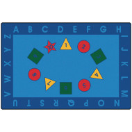 Early Learning Value Rug 6