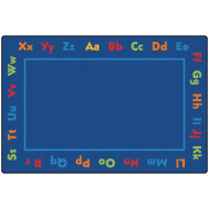 Alphabet Kids Value Rug 6