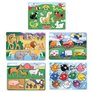 Melissa & Doug® Peek A Boo Puzzle Set (set of 5)