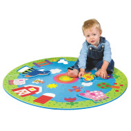 Around The Farm Giant Floor Puzzle