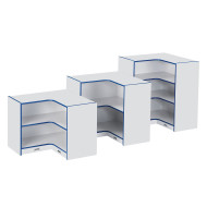 Rainbow Accents® Super Sized Corner Storage