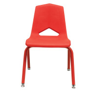 Marco Chair, Red Shell Red Frame