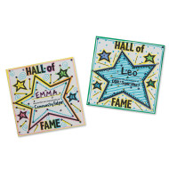 Hall of Fame Signs Craft Kit (makes 48)