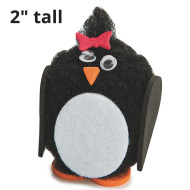 Pom Pom Penguins Craft Kit (makes 24)