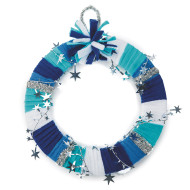 Sparkle Star Wreath Craft Kit (makes 24)