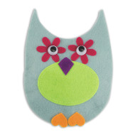Felt Owl Pillow Craft Kit (makes 12)