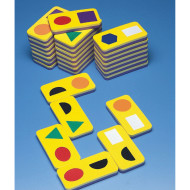 Foam Dominoes Shapes Set  (set of 28)