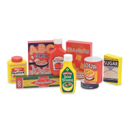 Pantry Products Play Food Set (set of 9)
