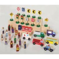 Community and Roadway Essentials Block Set (set of 36)