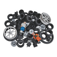BricTek® Building Blocks Wheels Set (set of 108)