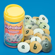 Alphabet Pebbles Lowercase (set of 26)