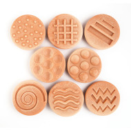 Tactile Sensory Design Stones (set of 8)