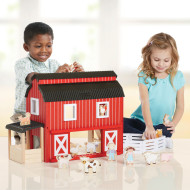 Big Red Barn (set of 18)