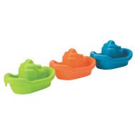 Three Colorful Boats (set of 3)