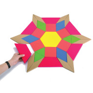 Giant Foam Pattern Blocks (set of 49)