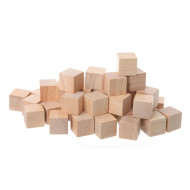 Wooden Cubes (set of 100)